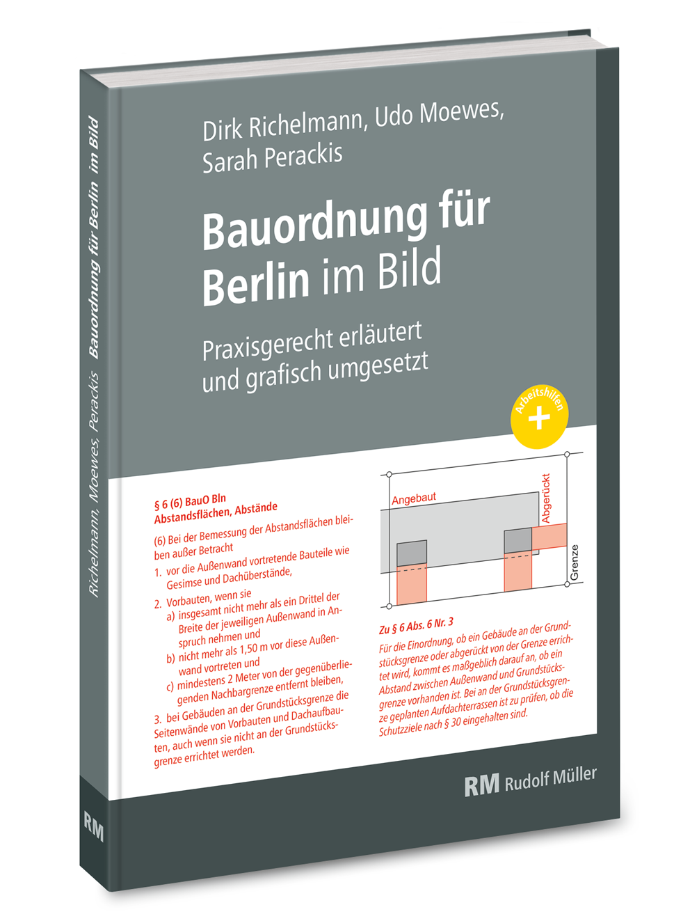 Bauordnung für Berlin im Bild Praxisgerecht erläutert und grafisch umgesetzt
