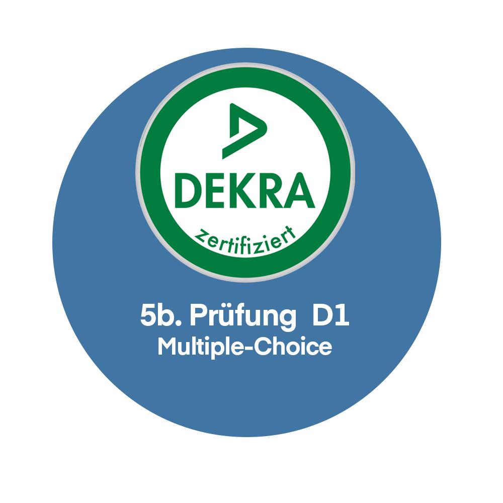 | 5b | Registrierung zur Prüfung DEKRA Sachverständiger Immobilienbewertung D1