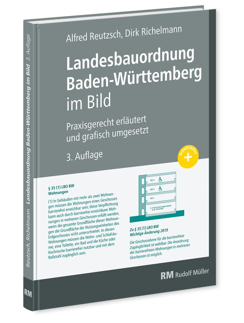 Landesbauordnung Baden-Württemberg im Bild Praxisgerecht erläutert und grafisch umgesetzt
