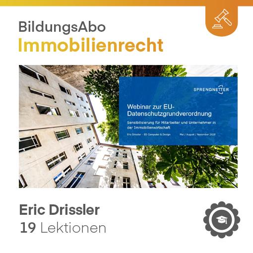 DSGVO - Sensibilisierung für Mitarbeiter und Unternehmer in der Immobilienwirtschaft (VIDEO-Kurs)