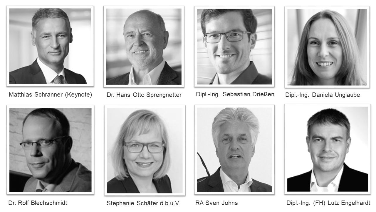 Auszug Referenten Jahreskongress Immobilienbewertung
