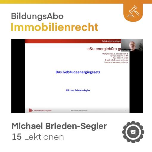 Das neue Gebäudeenergiegesetz - GEG (VIDEO-Kurs)